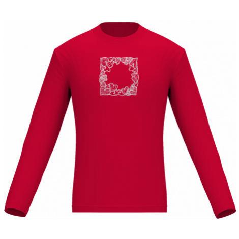 Pánské tričko dlouhý rukáv Srdíčkový rámeček