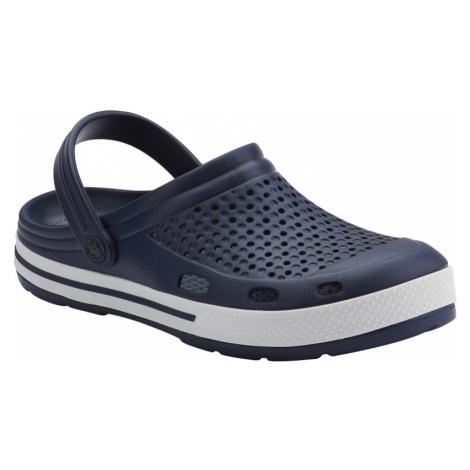Pánské kroksy (rekreační obuv) COQUI-Lindo navy / white / navy Modrá