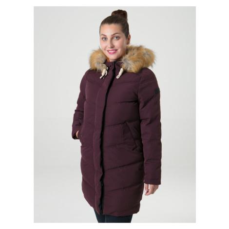 NAIROBI women's coat for the city purple LOAP