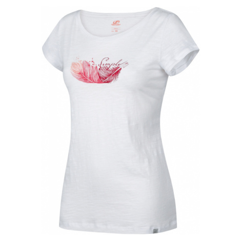 HANNAH SALDIVA Dámské triko 10003063HHX01 Bright white