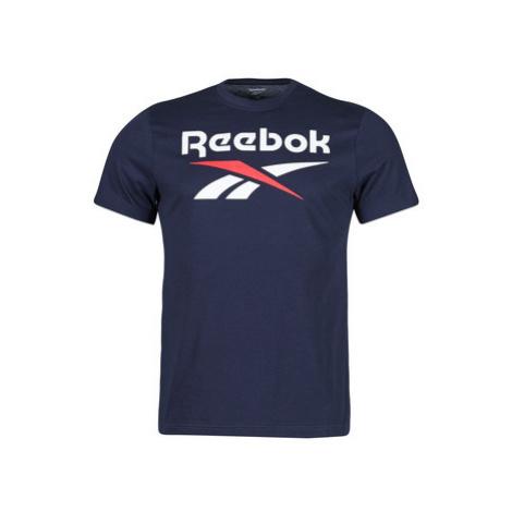 Reebok Classic RI BIG LOGO TEE Modrá