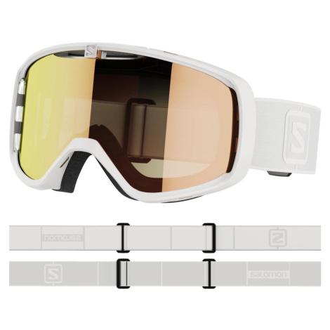Lyžařské brýle Salomon Aksium Photo - bílá