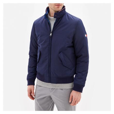 Tommy Hilfiger pánská modrá oboustranná bunda Harrington