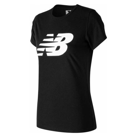 New Balance Logo Graphic QT T Shirt Ladies