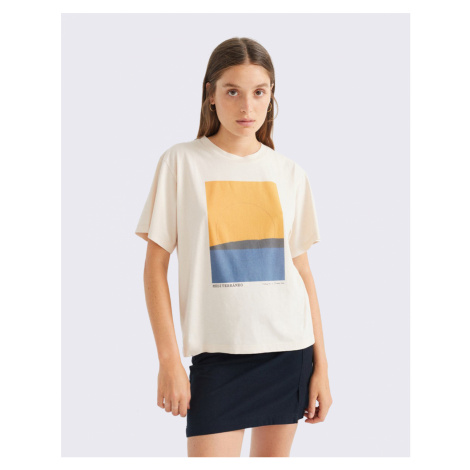 Thinking MU Mediterraneo T-Shirt BONE