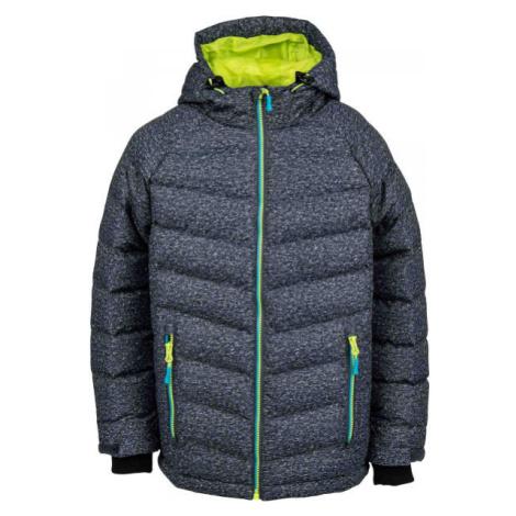 Lewro SHELBY zelená - Dětská zimní bunda