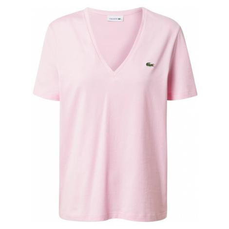LACOSTE Tričko růžová