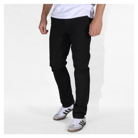 Pánské chinos kalhoty černé 10771 Willsoor