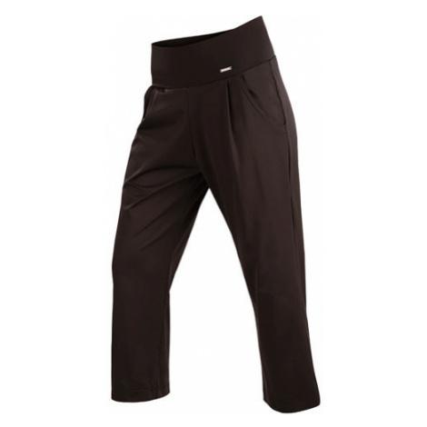 Dámské kalhoty v 7/8 délce Litex 5A231 | černá