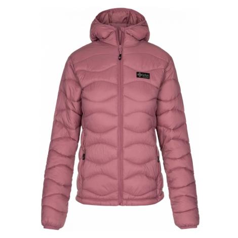 Dámská zimní prošívaná bunda KILPI REBEKI-W růžová