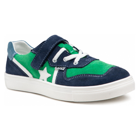 Sneakersy BARTEK - 18312003 Zielony/Niebieski