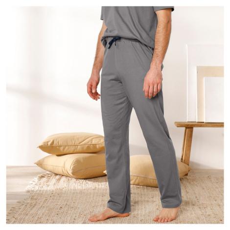 Blancheporte Pyžamové kalhoty, tmavě šedé tmavě šedá