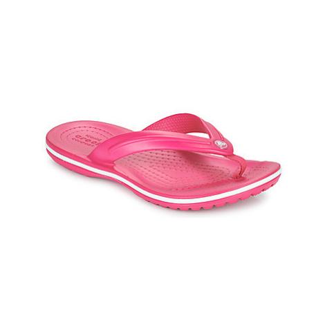 Crocs CROCBAND FLIP GS Růžová