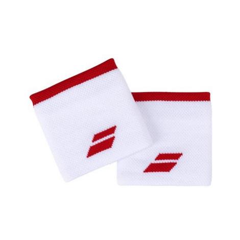 Babolat Jumbo Wristband Logo wh.-tomato red