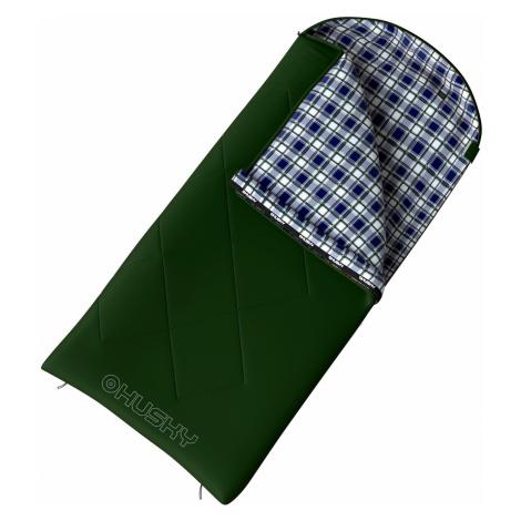 Husky Gary -5°C zelená Spacák dekový
