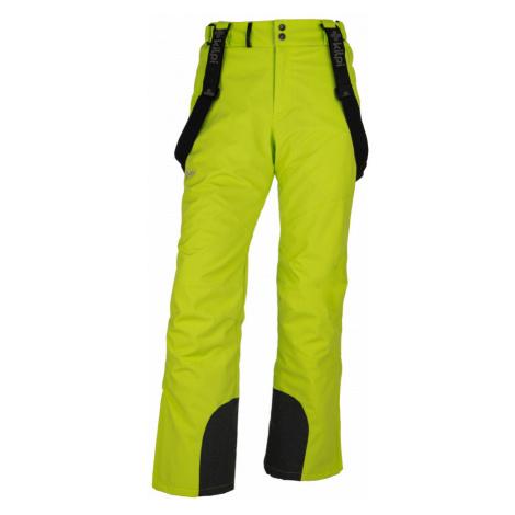 KILPI Pánské lyžařské kalhoty MIMAS-M HM0013KILGN Zelená
