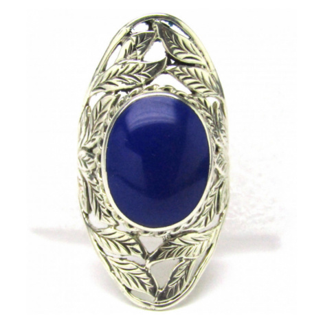 AutorskeSperky.com - Stříbrný prsten s lapis lazuli - S2965