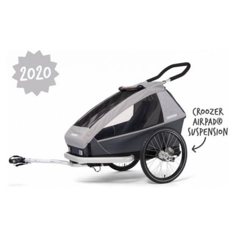 Dětský sportovní vozík Croozer Kid for 1 Keeke stone grey