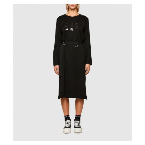 Šaty Diesel D-Fonty Dress - Černá