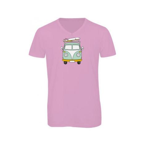 Pánské triko s výstřihem do V Camper Van
