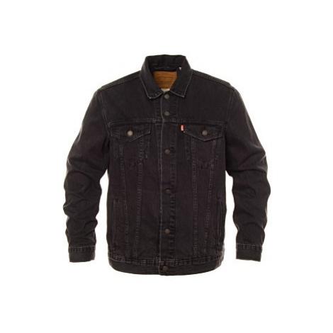 Džínová bunda Levi´s® The Trucker Liquorice pánské černá