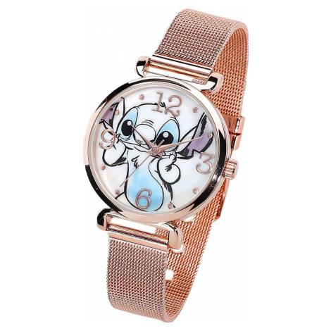 Lilo & Stitch Stitch Náramkové hodinky zlatá
