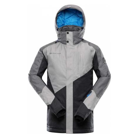 ALPINE PRO SARDAR 4 Pánská lyžařská bunda MJCS450770 šedá