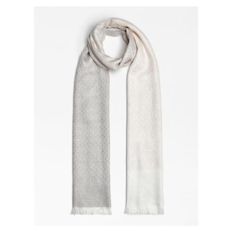 Guess GUESS dámská bílá šála/šátek s logy