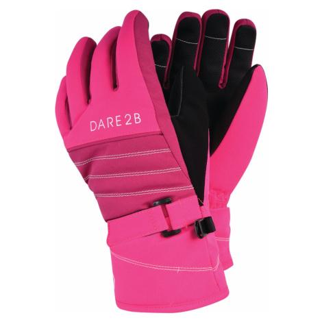 Dětské lyžařské rukavice Dare2b ABUNDANT růžová