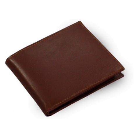 Tmavě hnědá pánská kožená peněženka Adamo Arwel