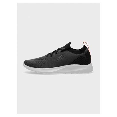 4F - Chlapecké sportovní boty typu sneakers s prodyšným svrškem - tmavě modrý