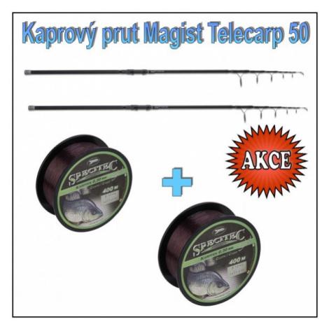 Kaprový teleskop Anaconda Magist Telecarp s 50 mm očkem Model 3,90m / 3,5lb Saenger
