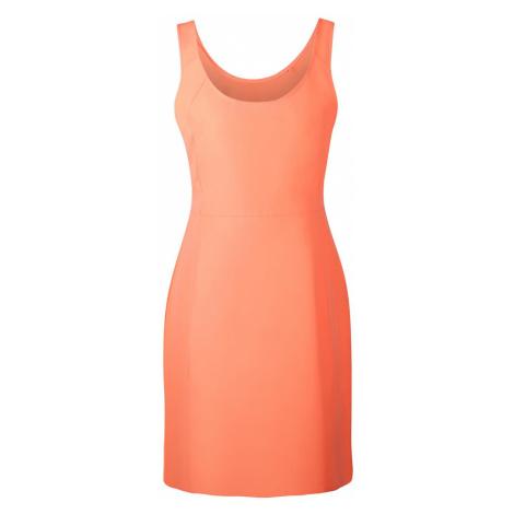 Dámské šaty Alpine Pro ELANDA 3 - oranžová