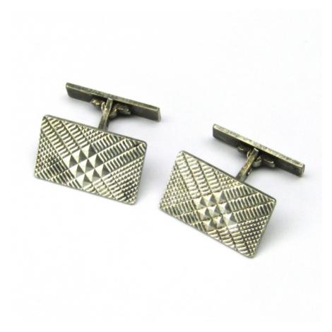 AutorskeSperky.com - Stříbrné manžetové knoflíky - S2085