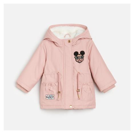 Reserved - Zateplená parka Mickey Mouse - Růžová