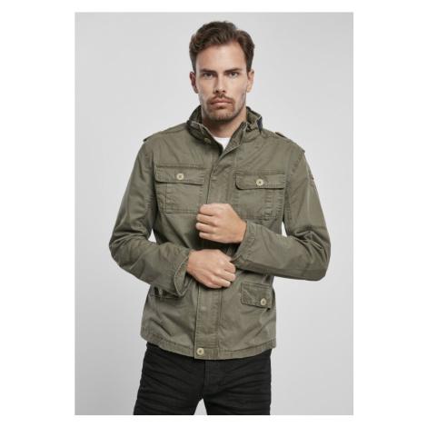 Bunda Britannia Jacket - olive Urban Classics
