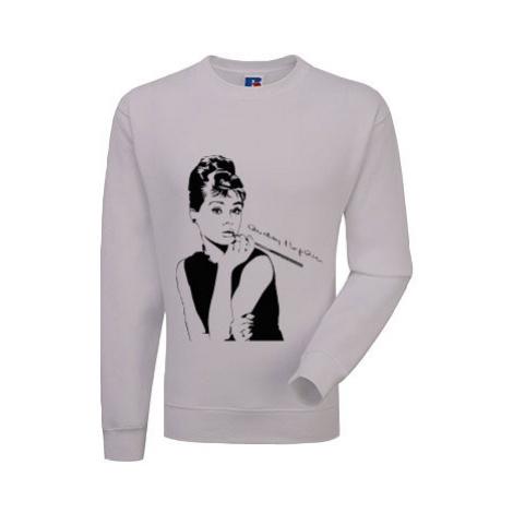 Pánská mikina bez kapuce Audrey Hepburn