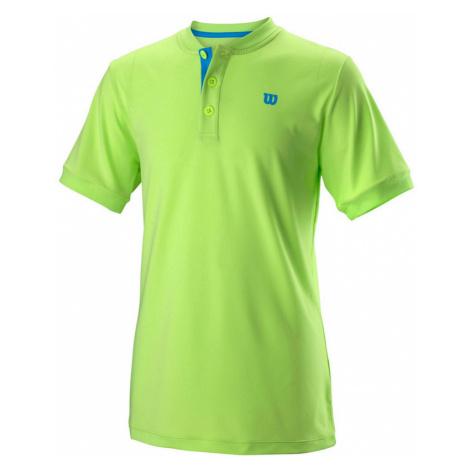 Dětské tričko Wilson Uwii Henley Green