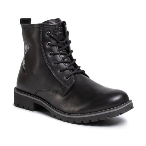 Šněrovací obuv Lasocki Young CI12-KAVA-03 Přírodní kůže (useň) - Lícová