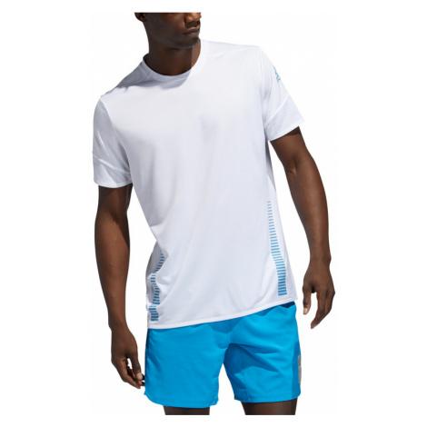 Pánské tričko adidas 25/7 Rise Up N Run Parley bílé