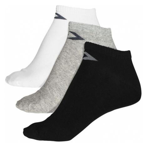 fccc3ad96 Converse Balení 3ks ponožek 3PP Converse Basic Men low cut, flat knit Mid  Grey/