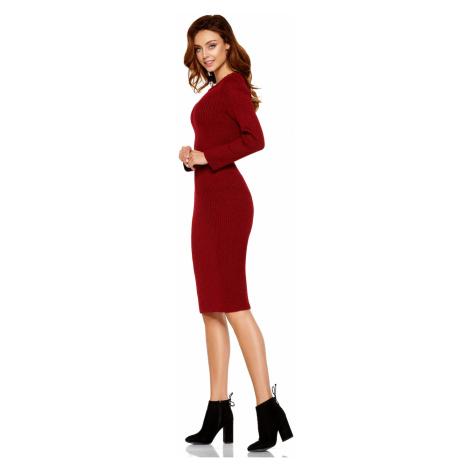 Lemoniade Woman's Sweater LS224 Crimson