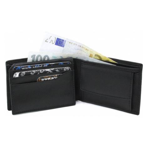 Černá pánská kožená mini peněženka Dalezya Arwel