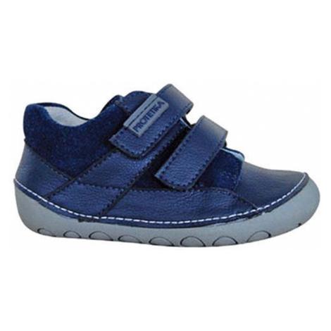 obuv dětská barefoot NED NAVY, Protetika, modrá