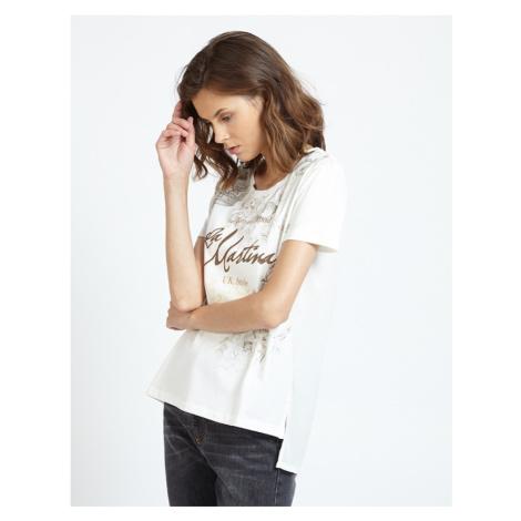 Tričko La Martina Woman T-Shirt S/L - Bílá