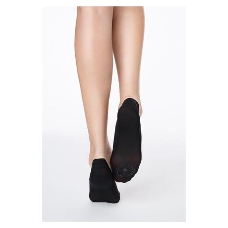Černé balerínkové ponožky Lux Line Normal Abs Marilyn