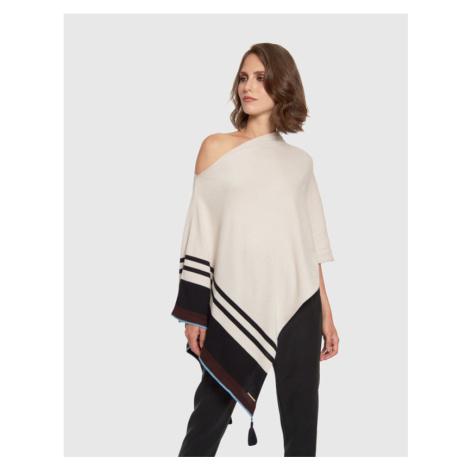 Svetr La Martina Woman Cotton Tricot Gg12 - Bílá