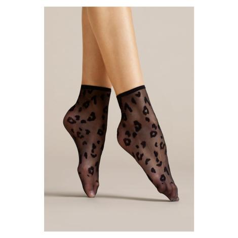 Černé ponožky Doria 8DEN