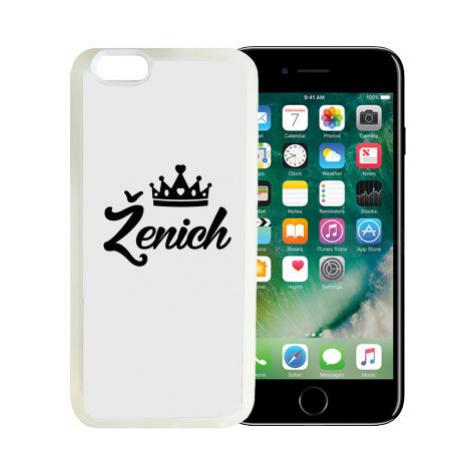 iPhone 7/8 kryt gumový soft Ženich