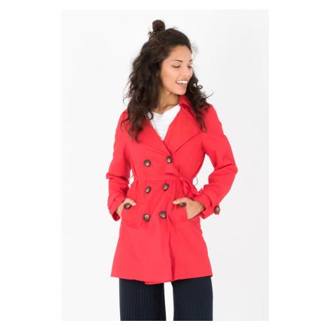 Smash ANNABEL Dámský kabát červený